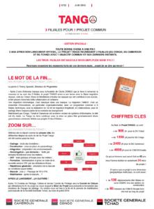 Newsletter Société Générale Tango - Clarans consulting a l'honneur
